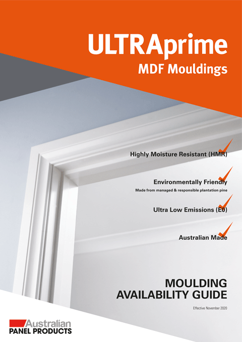 ULTRAprime MDF Moulding Availability Guide